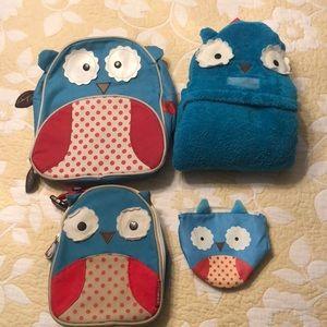 Skip Hop Owl Set